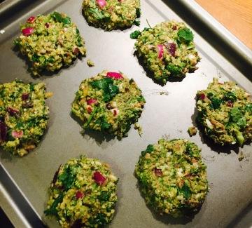 Broccoli Fritter Prep