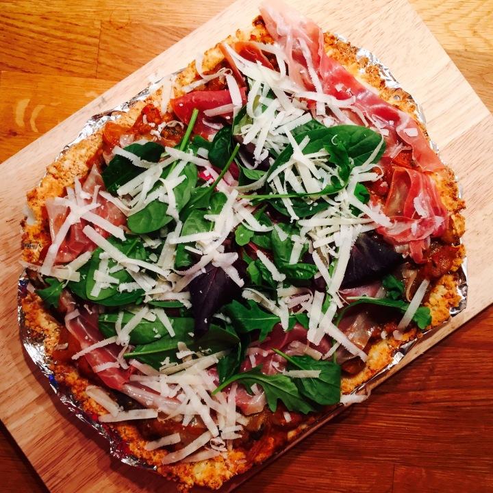Flower Power Pizza