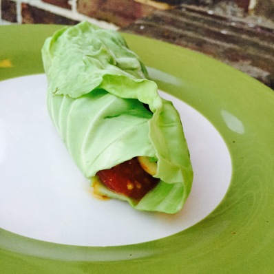 Stir Fry Cabbage Wrapped