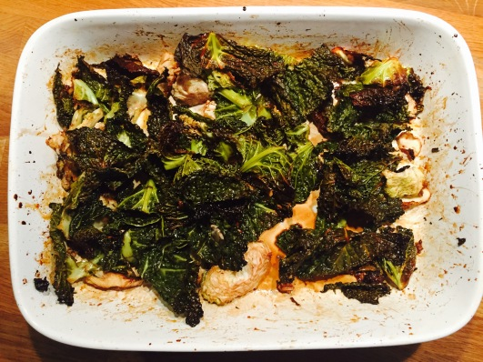 Roasted Savoy Cabbage
