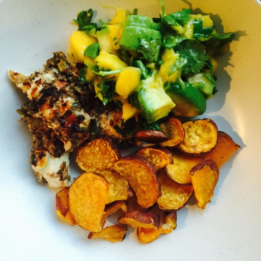 jerk-chicken-with-mango-avocado-salsa