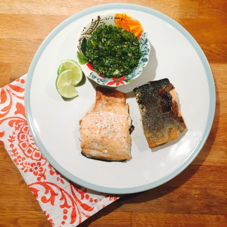 salmon-with-chimichurri