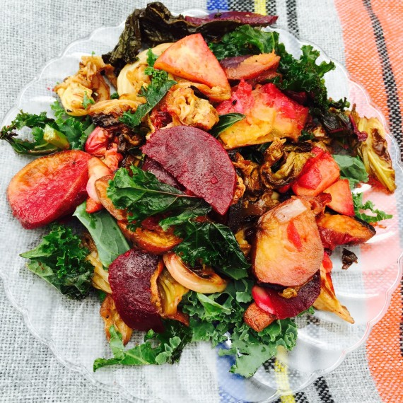 autumn-salad-with-cabbage