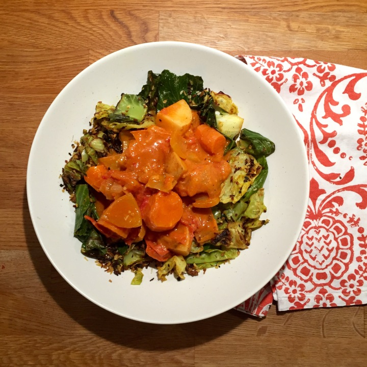 Slow-Cooked Veggie Curry